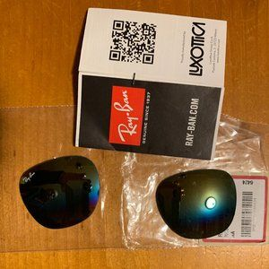 Ray-Ban Clubmaster replacement lenses authentic